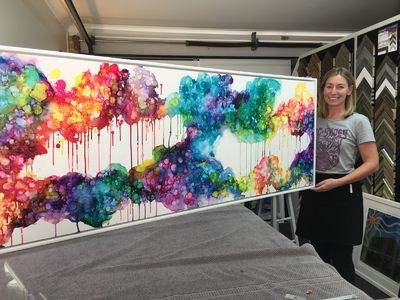 Oversized Artwork